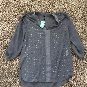New maurices sheer top small